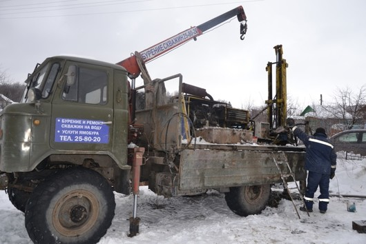 Буровая установка на базе ГАЗ-66