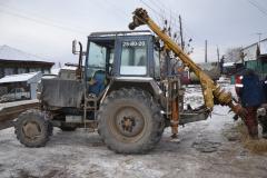 Буровая установка на базе трактора МТЗ-82